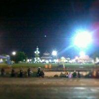 Photo taken at Alun - Alun Demak by Ikhwan S. on 10/31/2012