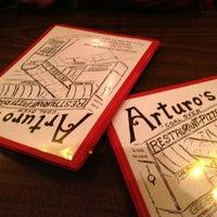 Photo taken at Arturo's Restaurant by Glafira P. on 4/16/2013