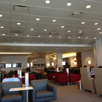 Photo taken at Delta Sky Club by Kim G. on 4/7/2013