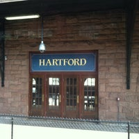 Photo taken at Hartford Union Station (HFD) - Amtrak by Sammi on 10/17/2012