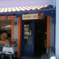 Photo taken at Ο Φουρνος Της Χωρας by Mavi D. on 7/13/2013