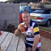 Photo taken at Pagham Beach Cafe by Stephen JC on 10/6/2013