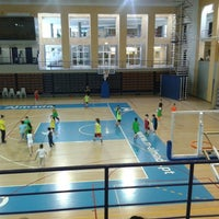Photo taken at Complexo Municipal dos Desportos by João M. on 4/16/2014
