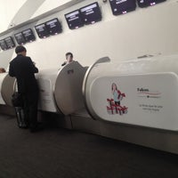 Photo taken at Sky Priority Check In Aeromexico by Alejandro A. on 12/19/2013