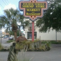 Photo taken at Fourth Street Shrimp Store by Renae' C. on 6/2/2013
