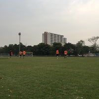 Photo taken at Sports Field by Ykyungkhaw S. on 4/5/2017