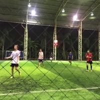 Photo taken at Boy Tarprajun FC by Ykyungkhaw S. on 1/17/2017