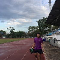 Photo taken at Sports Field by Ykyungkhaw S. on 4/19/2017