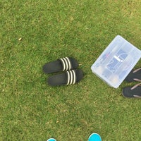 Photo taken at Sports Field by Ykyungkhaw S. on 4/3/2017