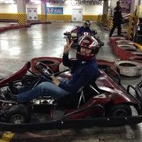Photo taken at Speedy Karting by Ayhan on 2/9/2014