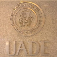 Photo taken at Universidad Argentina de la Empresa (UADE) by Cassiano M. on 10/1/2012