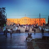 Photo taken at Syntagma Square by Brandyn on 6/8/2013