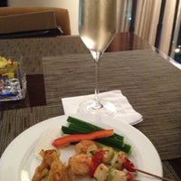 Photo taken at Intercontinental Club Lounge by Sahrie on 2/4/2013
