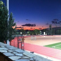 Photo taken at Soccer Field & Running Track ACG-Deree by Johnny G. on 11/8/2012