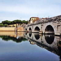 Photo prise au Ponte di Tiberio par Marco C. le10/13/2013