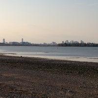 Photo taken at Wollaston Beach by Rishi D. on 4/27/2013