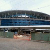 Photo taken at Construção da Arena do Grêmio by Aline B. on 11/11/2012