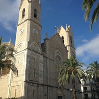 Photo taken at Plaza del Rei Jaume I by David on 8/21/2013