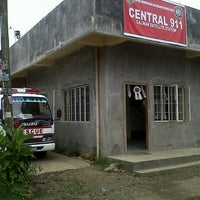 Photo taken at Central 911 Calinan Station by Gabriel on 11/29/2012