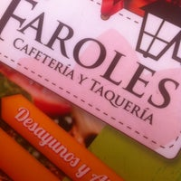 Photo taken at Los Faroles by Adair on 3/7/2014