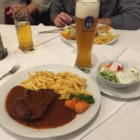 Photo taken at Zagreb Steakhouse by Hari A. on 2/3/2018