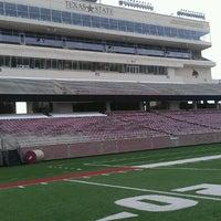 Photo taken at Bobcat Stadium by Julie G. on 6/11/2013