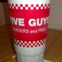 Photo taken at Five Guys by Christina S. on 11/4/2012