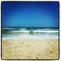 Photo taken at Praia do Mariscal by Gabriel M. on 1/12/2013