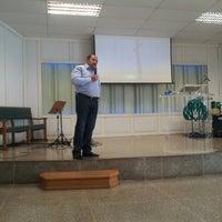Photo taken at Igreja Presbiteriana da Alvorada by Carlos Henrique R. on 8/25/2013