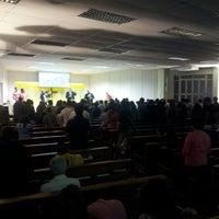 Photo taken at Igreja Presbiteriana da Alvorada by Carlos Henrique R. on 5/26/2014