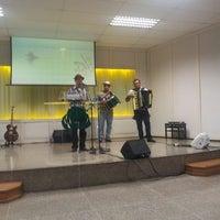 Photo taken at Igreja Presbiteriana da Alvorada by Carlos Henrique R. on 11/9/2013