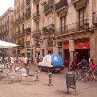 Photo taken at Green Bikes Barcelona Rentals & Tours by Bob D. on 8/15/2013