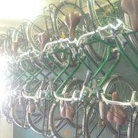 Photo taken at Green Bikes Barcelona Rentals & Tours by Bob D. on 8/16/2013