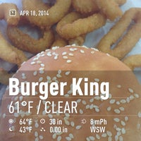 Photo taken at Burger King by Bill M. on 4/18/2014