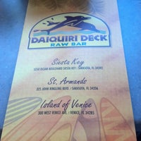 Photo taken at Daiquiri Deck Venice by Jeff C. on 1/18/2013