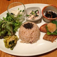 """Photo taken at from earth cafe """"OHANA"""" by moca on 4/8/2013"""