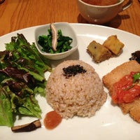 """Photo taken at from earth cafe """"OHANA"""" by moca on 4/4/2013"""