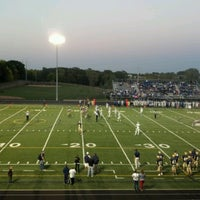 Photo taken at Chanhassen High School by George M. on 9/15/2012