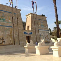 Photo taken at Pharaonic Village by Oscar J. on 3/3/2015