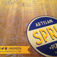 Photo taken at Spris Artisan Pizza by Ayla S. on 10/8/2014