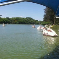 Photo taken at Parque Portugal - Lagoa do Taquaral by Netto M. on 12/16/2012