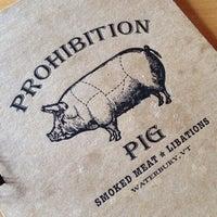 Снимок сделан в Prohibition Pig пользователем Heather G. 9/1/2014
