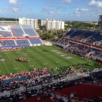 Photo taken at FAU Football Stadium by Wendy W. on 12/1/2012