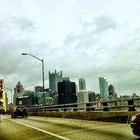 Photo taken at Pittsburgh Tunnel by Kathryn Trebino on 12/8/2012
