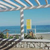 Photo taken at Bikini Beach by Jess V. on 9/30/2015