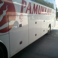 Photo taken at Pamukkale Turizm by Gökmen b. on 7/4/2013