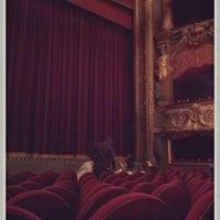 Photo taken at Théâtre du Gymnase by Stéphane P. on 3/19/2013