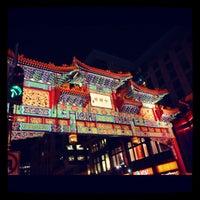 Photo taken at Chinatown Friendship Archway by Benton Kealii P. on 10/17/2012