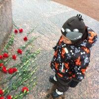 Photo taken at Памятник Багратиону by bezdel'nik 8. on 10/24/2012