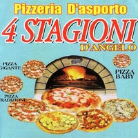 Photo taken at Pizzeria 4 Stagioni by Alessandro Veg M. on 11/1/2012